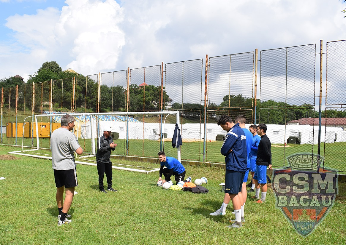 Antrenament Echipa Fotbal CSM Bacau