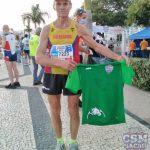 Atletul Martin Benchea - semimaratonului de la Madeira