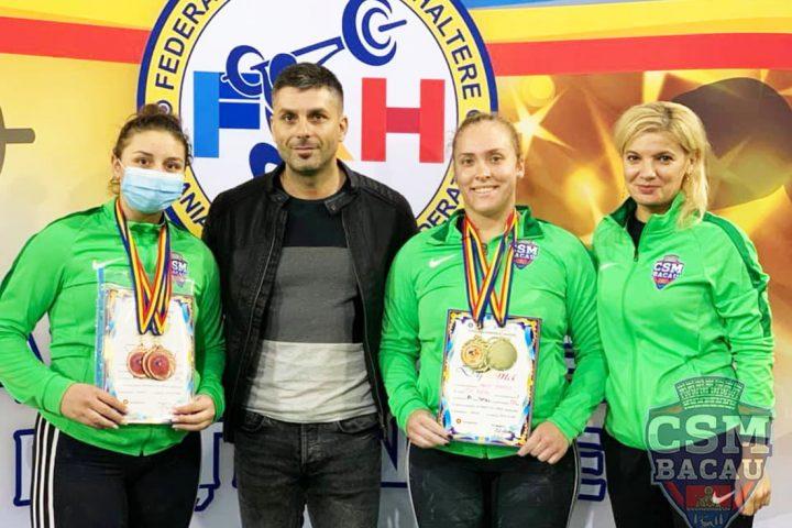 Medalii Haltere CSM Bacau