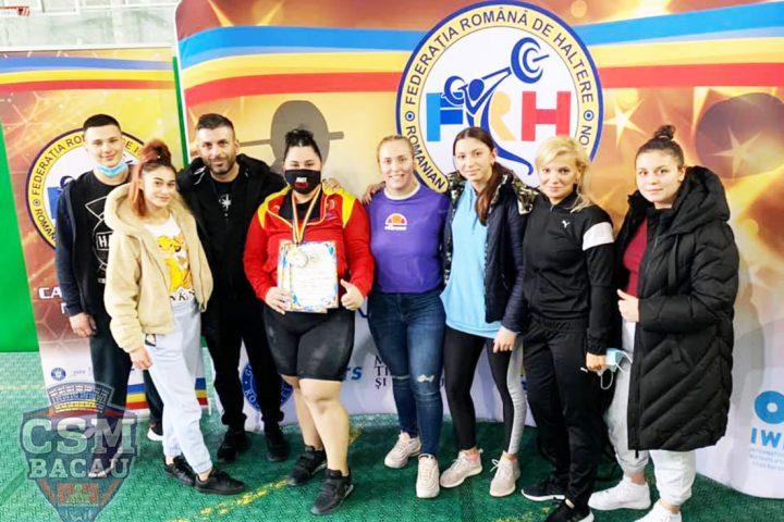 CSM Bacau la Campionatele Naționale Haltere pentru Seniori