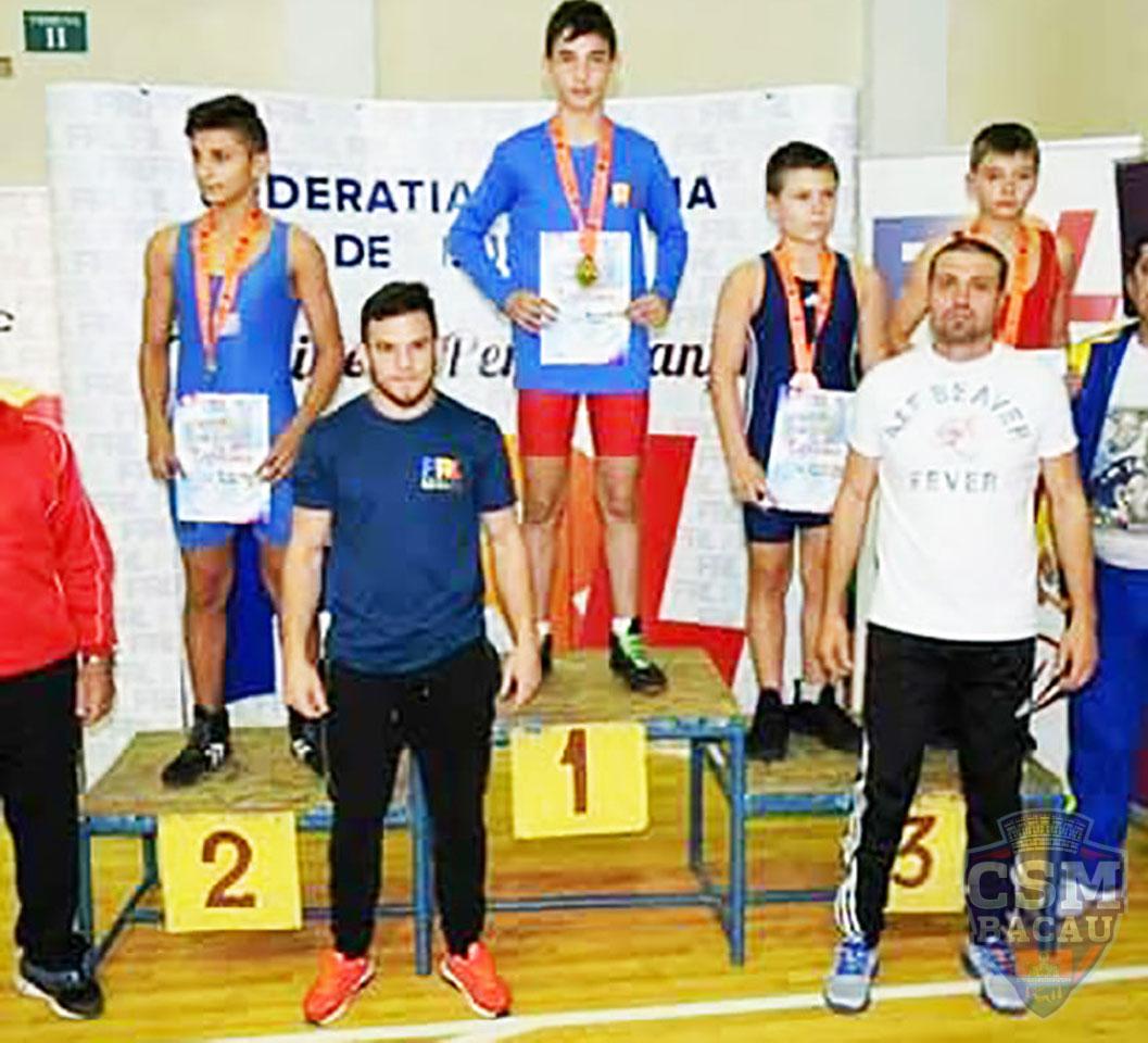 CSM Bacău la Campionatele Naționale de Lupte pentru Cadeți
