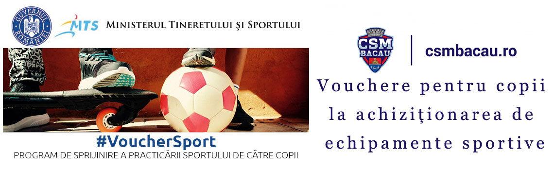 Vouchere pentru copii la achizitionarea de echipamente sportive