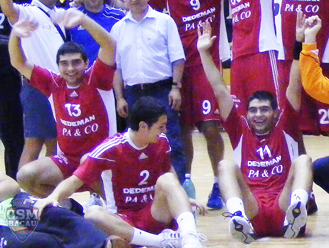 CSM Bacau - Handbal - Gabriel și Mihai Bujor
