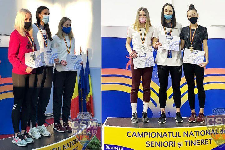 Medalii Atletism CSM Bacau