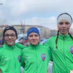 Campionatului Național de marș - Au marșat spre podium