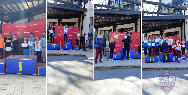 CSM Bacau - Atletism - Cros - medalii