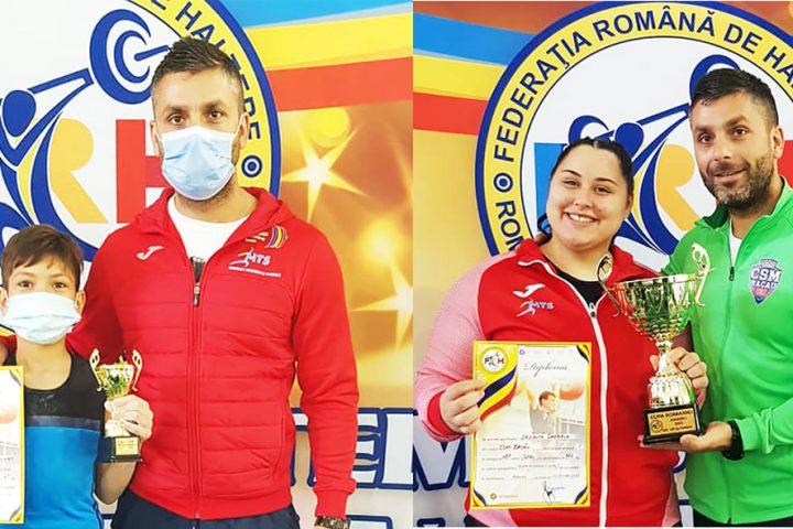 CSM Bacau - Haltere - Medalii Cupa Romaniei