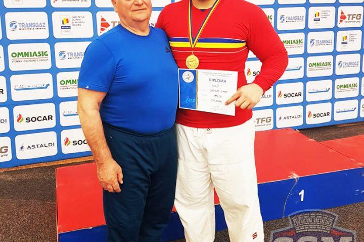 CSM Bacau - Judo - MIrcea Croitoru - Antrenor Aurel Chelariu